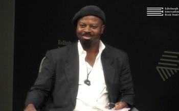 Ben Okri at the Edinburgh International Book Festival