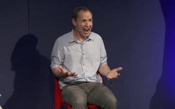 Mike Berners-Lee talks to Tanya Steele at the Edinburgh International Book Festival