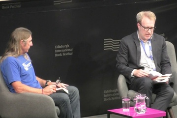 Tim Winton talks to John Williams at the Edinburgh International Book Festival