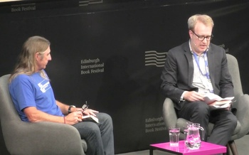 Tim Winton talks to John Williams at the Edinburgh International Book Festival