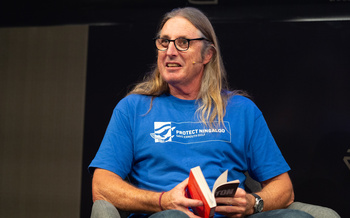 Tim Winton at the Edinburgh International Book Festival