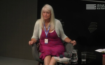 Lesley Riddoch at the Edinburgh International Book Festival