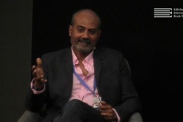 George Alagiah speaks to Allan Little at the Edinburgh International Book Festival