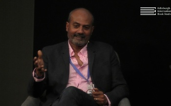 George Alagiah speaks to Allan Little at the Edinburgh International Book Festival