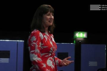 Rachel Reeves at the Edinburgh International Book Festival