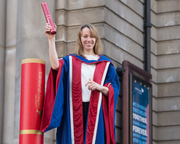 Ali Bowden Honoured for Putting Edinburgh's Literary Culture on the World Stage