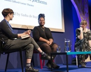 Candice Carty-Williams & Annaleese Jochems at the Edinburgh International Book Festival