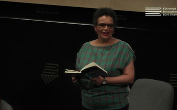 Jackie Kay speaks to Tanika Gupta at the Edinburgh International Book Festival
