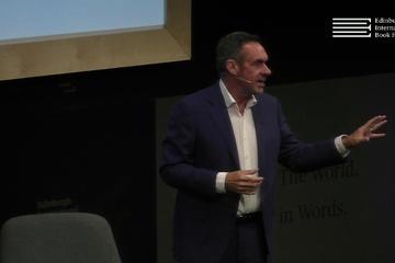 Paul Mason at the Edinburgh International Book Festival