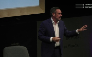 Paul Mason at the Edinburgh International Book Festival