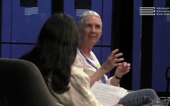 Ann Cleeves at the Edinburgh International Book Festival