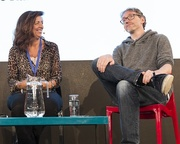 Louise Doughty & Stuart Turton at the Edinburgh International Book Festival