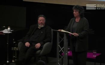 Carol Ann Duffy at the Edinburgh International Book Festival