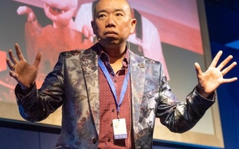Giles Yeo at the Edinburgh International Book Festival