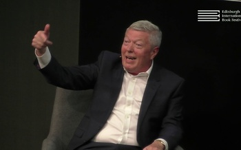 Alan Johnson at the Edinburgh International Book Festival