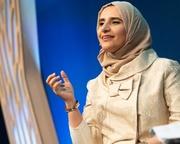 Jokha Alharthi at the Edinburgh International Book Festival
