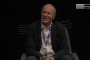 Iain Sinclair at the Edinburgh International Book Festival