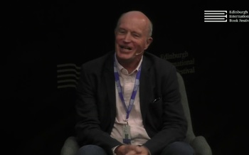 Iain Sinclair at the Edinburgh International Book Festival