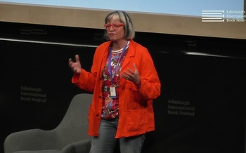 Philippa Perry at the Edinburgh International Book Festival