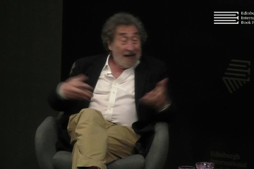 Howard Jacobson at the Edinburgh International Book Festival