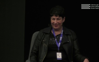 Joanne Harris at the Edinburgh International Book Festival