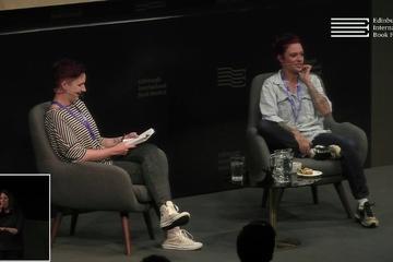 Jack Monroe at the Edinburgh International Book Festival