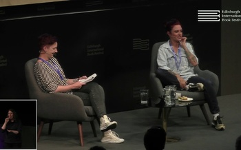 Jack Monroe at the Edinburgh International Book Festival