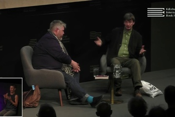 Ian Rankin talks to Phill Jupitus at the Edinburgh International Book Festival