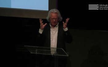 A C Grayling at the Edinburgh International Book Festival