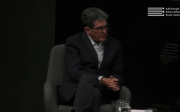 Alan Rusbridger talks to David McCraw at the Edinburgh International Book Festival