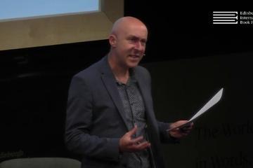 Chris Brookmyre talks to Brian Taylor at the Edinburgh International Book Festival
