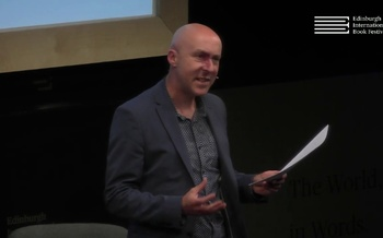 Chris Brookmyre talks to Brian Taylor at the Edinburgh International Book Festival
