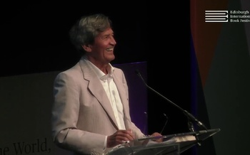 Melvyn Bragg at the Edinburgh International Book Festival