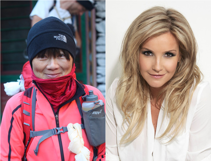 Helen Skelton and Lily Dyu Challenged Young Audiences To Get Adventurous in Lockdown