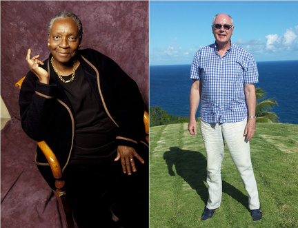 French Guadeloupe Novelist Maryse Condé in conversation at the Edinburgh International Book Festival Online