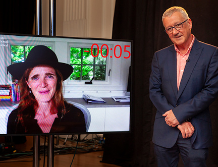 """""""Seize it – it will not be given."""" Samantha Power in Conversation with Allan Little"""