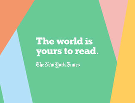 The world is yours to read - The New York Times