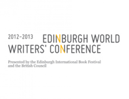 Edinburgh takes the lead on the importance of writing in the world today: Edinburgh World Writers' Conference 2012-2013