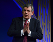 Gordon Brown shares thoughts on the Union at the Edinburgh International Book Festival