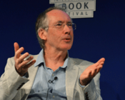 """Writing a novel is a bit like getting married"" says Ian McEwan at Book Festival"