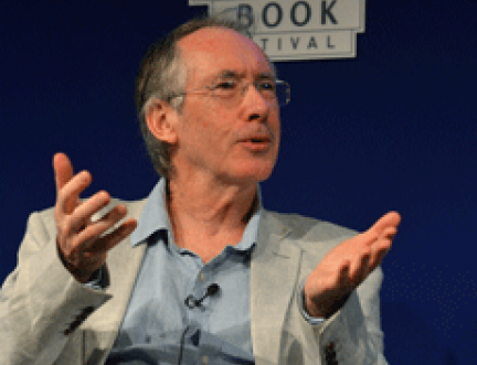 """Writing a novel is a bit like getting married"" says Ian McEwan at Book Festival"