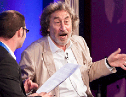 'Great book ruined by Man Booker Prize' jests Howard Jacobson as he launches his latest novel at the Edinburgh International Book Festival