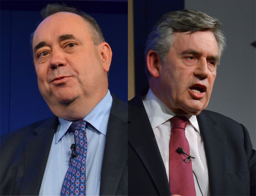 Alex Salmond and Gordon Brown to speak at the Edinburgh International Book Festival