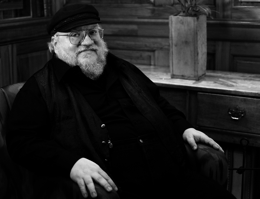 George R R Martin at Edinburgh International Book Festival to be live-streamed on BBC Arts Online