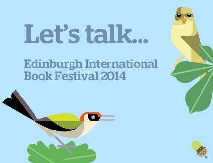 Edinburgh International Book Festival opens tomorrow