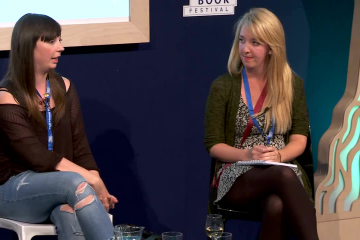 Holly Baxter and Rhiannon Cosslett (2014 event)