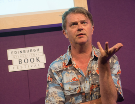 Paul Merton at the Edinburgh International Book Festival