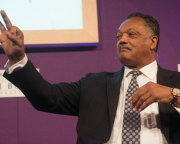 Civil Rights Campaigner Jesse Jackson Speaks at Edinburgh International Book Festival