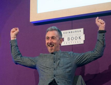 Hollywood Star Alan Cumming Speaks at the Edinburgh International Book Festival