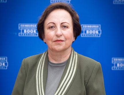 Nobel Peace Prize Winner Shirin Ebadi Speaks Out at Edinburgh International Book Festival
